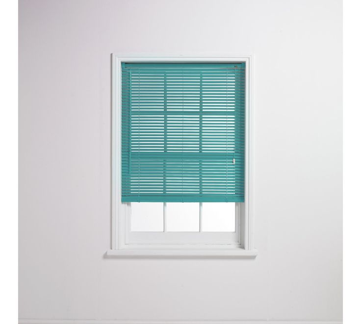 Buy ColourMatch Venetian Blind - 3ft - Teal at Argos.co.uk - Your Online Shop for Blinds, Blinds, curtains and accessories, Home furnishings, Home and garden.