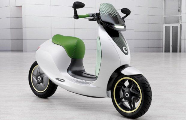 Daimler's new electric scooter