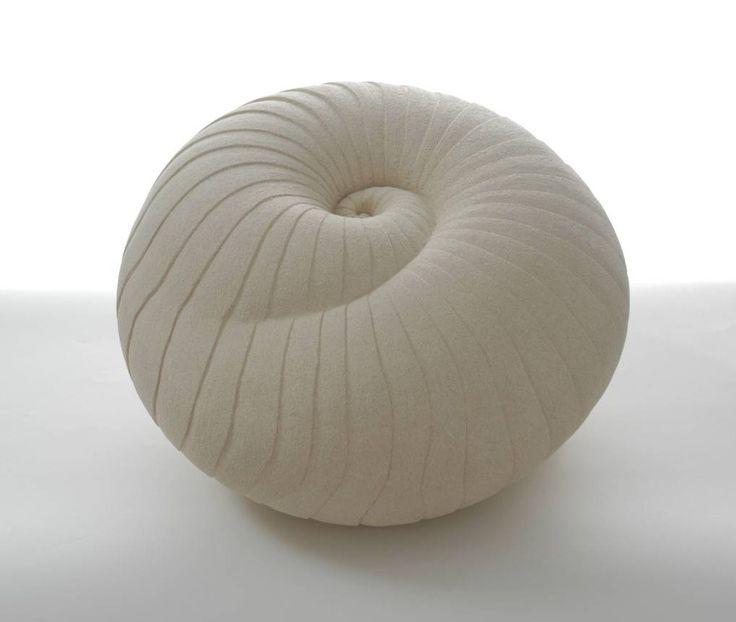 Sarah Partridge - ceramic nautilus