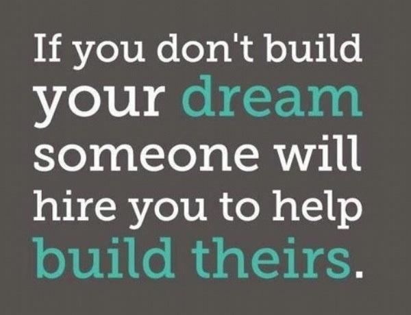 Corra atrás dos seus sonhos!