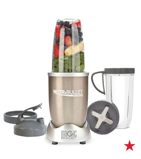 Tiny yet powerful, the NutriBullet Pro is specifically engineered to help break down the cell walls of food to create some of the most nutritional smoothies available. Pick one up to make your next morning smoothie!