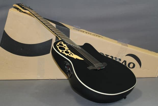 Ovation Elite 1778TX-5GSM Acoustic/Electric Mid Depth Cutaway | Reverb