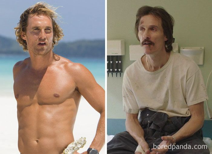 Matthew Mcconaughey Dallas Buyers Club Chris Hemsworth Weight Matthew Mcconaughey Actors
