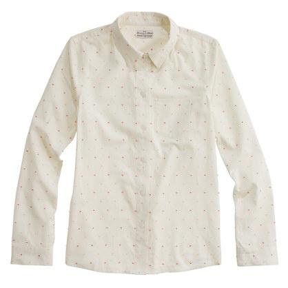 Shrunken Dropdot Shirt: Shrunken Boyfriends, Pink Dots, Polka Dots, Shrunken Dropdot, White Shirts, Dropdot Shirts, Dropdot Shirtnow, Chic Style, Ladies Style
