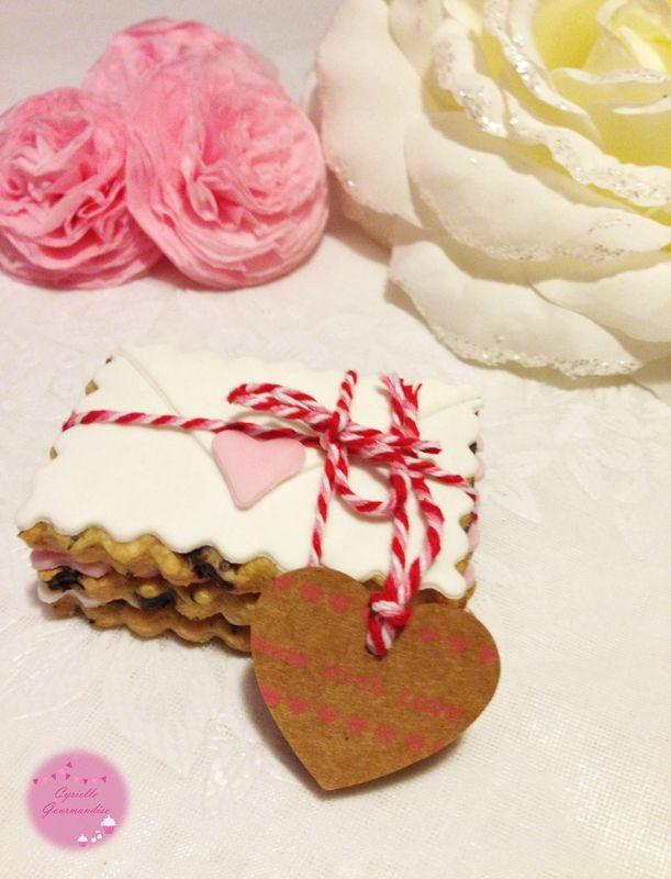 Love sablés au chocolat et au thé {Saint-Valentin}