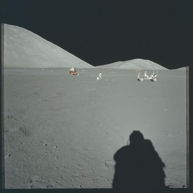 These Apollo Images Show the Moon Missions Like You've Never Seen  - Esquire.com