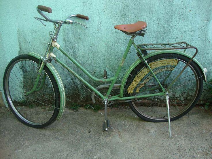 Rara Bicicleta Antiga Feminina Monark 1956 Toda Original - R$ 1.900,00 no MercadoLivre