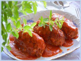 Domowa kuchnia Aniki: Gołąbki bez zawijania w sosie pomidorowym