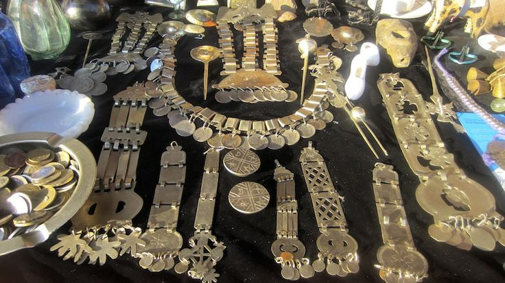 Mapuche jewelry, Chile