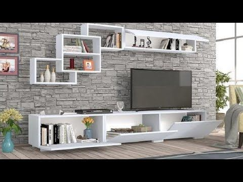 100 Tv Cabinet Design For Living Room Bedroom Wall Units 2019 Catalogue Youtube Tv Wall Design Wall Tv Unit Design Tv Cabinet Design