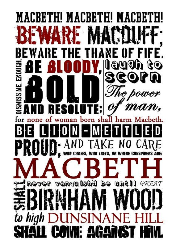 macbeth quotes witches - Google Search