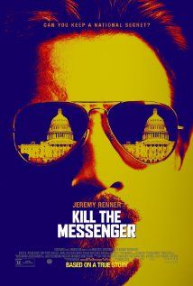 Kill the Messenger (2014).  Based on a true story of a San Jose Mercury News reporter who uncovers drugs being imported into the U.S. by the government.  After his articles are published detailing what he's uncovered, he receives acclaim, but his life is turned upside down.  One of the best movies of the year.  Jeremy Renner stars.