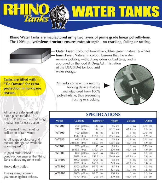 Water Tanks Rototech International Ltd Water Tank Water Tank