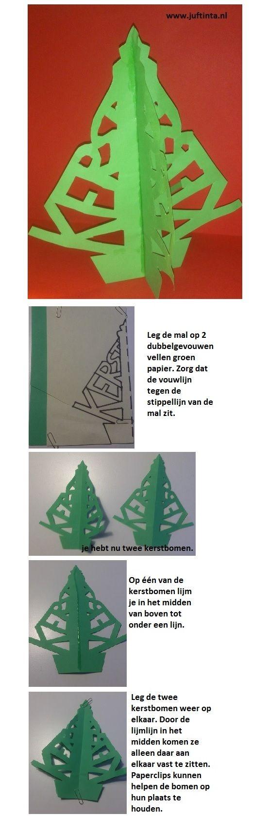 3D kerstboom