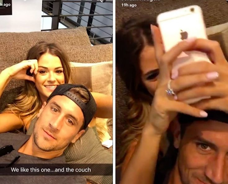JoJo And Jordan Are Already Snapchatting Each Other Like Crazy