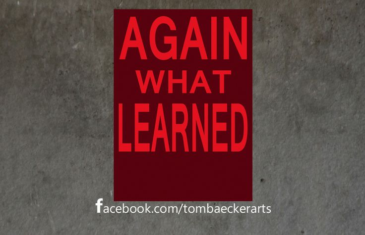 """Nr5535 """"Wieder was gelernt"""" / Postkarte Engleutsch von    tom bäcker auf DaWanda.com"""