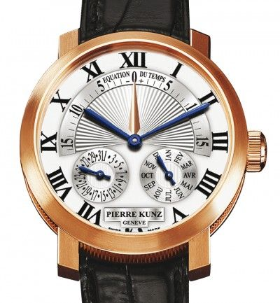 A beautiful watch from Pierre Kunz's Grande Complication collection.