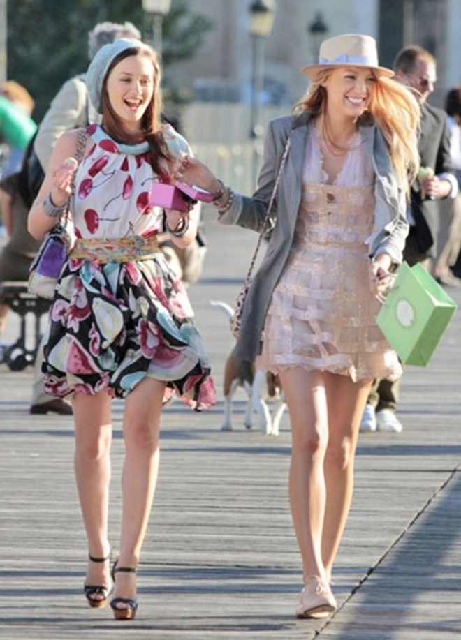 4e7ab1b78164 Baubles and Cocktails  Gossip Girl- Blair Waldorf and Serena Van der Woodsen