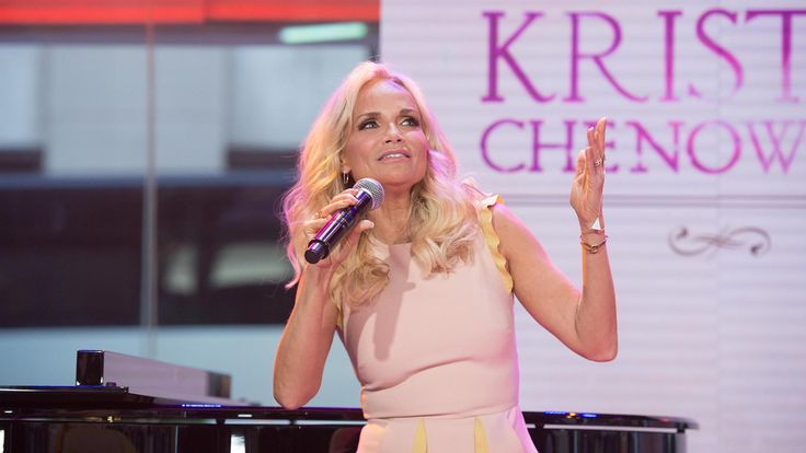 "Singer and actress Kristin Chenoweth, star of stage, film and TV (including the upcoming ""Hairspray Live!"") has a new album of great American standards, ""The Art of Elegance."" Live in the studio she sings one of the songs from it, ""You're My Saving Grace."""