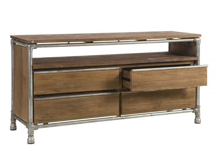 Kommode / Sideboard im Industriedesign.