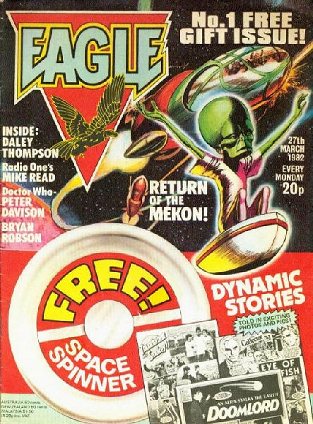 Eagle - My favourite comic ever. Dan Dare, Doomlord! Brilliant!