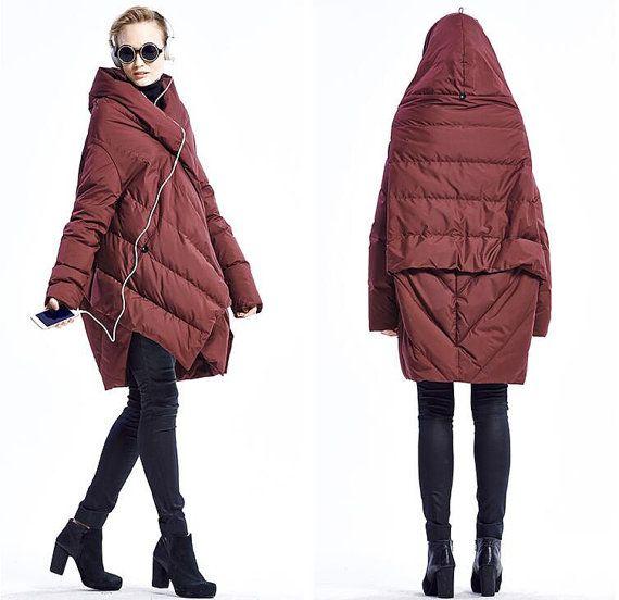 Weiblich Daunenjacke Lady Jacke Winter Mantel Damen von pppyesr
