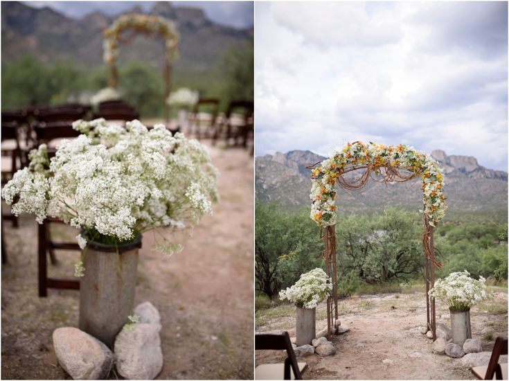 The 15 best tucson wedding venues images on pinterest wedding ashley and chris wedding at catalina state park and the gallery golf club in tucson junglespirit Images