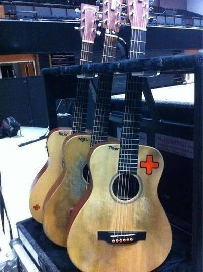 Ed Sheeran guitars...I love how he names them :)