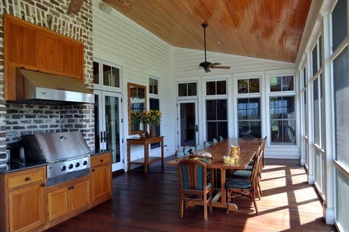 Grill & Hood on screened in porch: Insane? - Building a Home Forum - GardenWeb