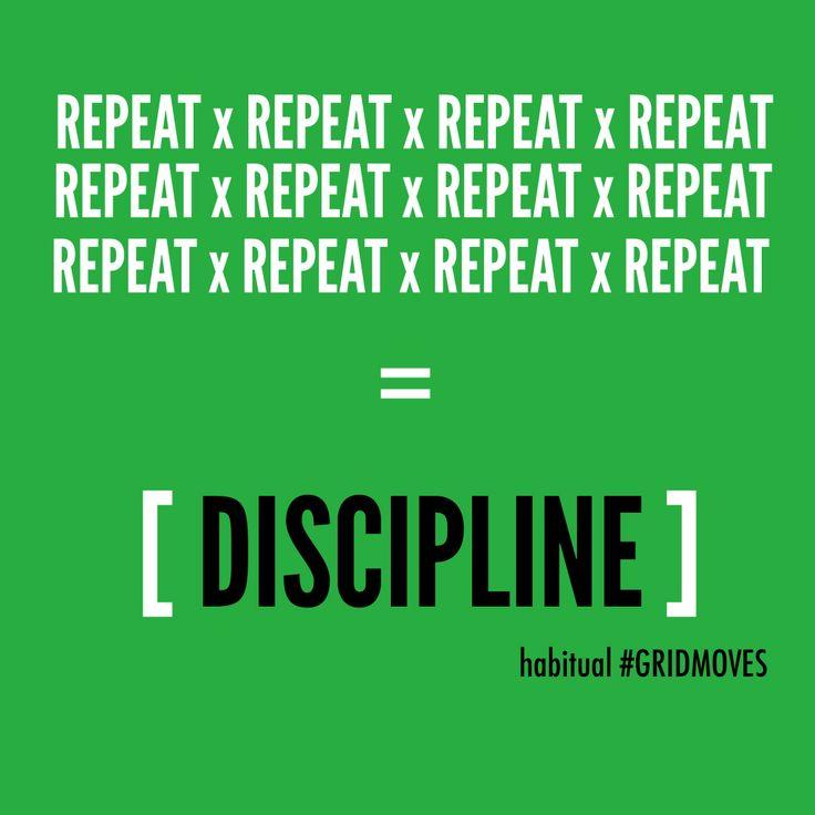 Speech on dicipline