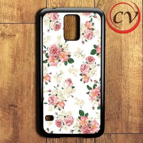 Vintage Floral Samsung Galaxy S5 Case