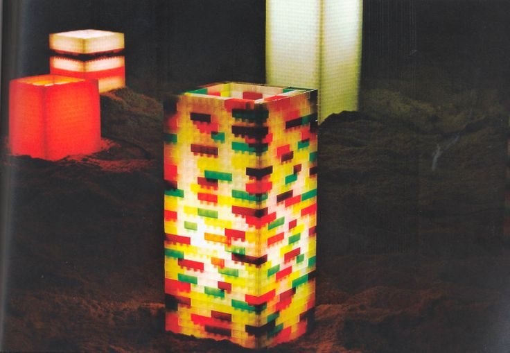 Make a lego lamp!