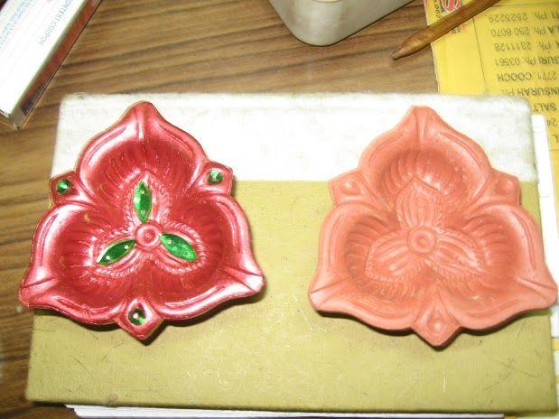 DIY Hand Painted Diya