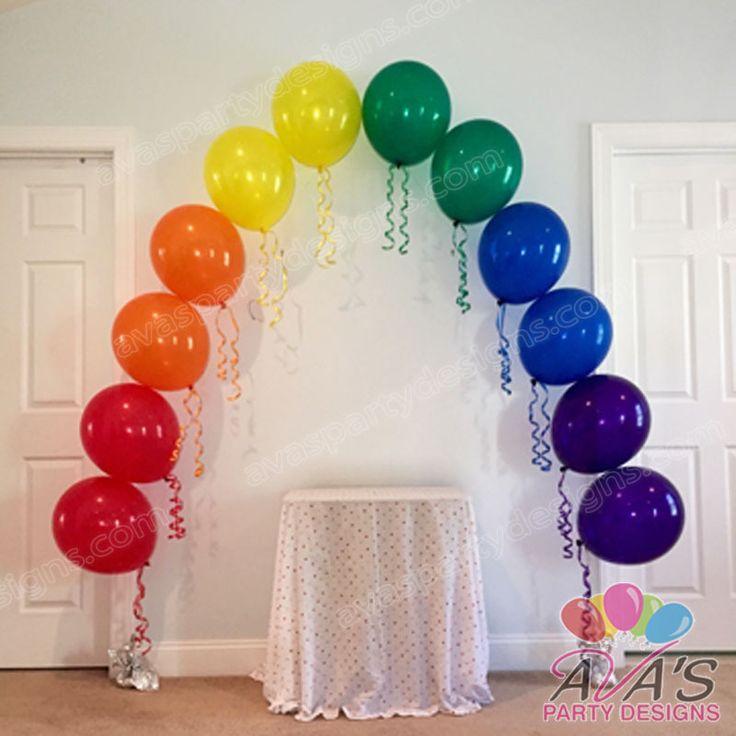 Best ideas about rainbow balloons on pinterest