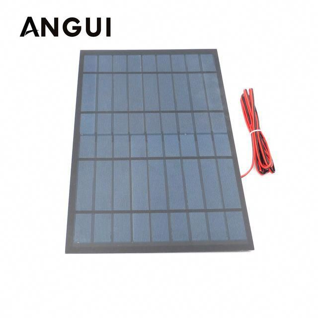 9v 10watt With 200cm Extend Cable Solar Panel Polycrystalline Silicon Diy Battery Charger Module Mini Solar Cell Wire In 2020 Solar Panels Solar Cell Best Solar Panels