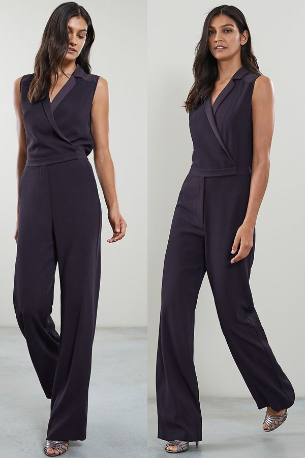 3dfb034a28 Navy formal tuxedo jumpsuit from Reiss Autumn Winter collection ...