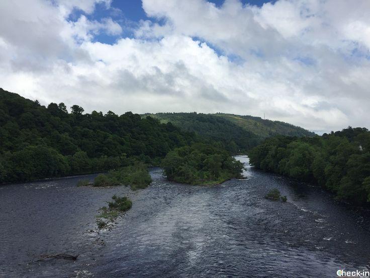 Scorcio dal Dunkeld Bridge, #scozia