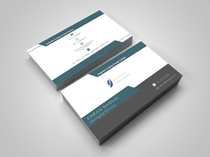 Business card design for Kalypso