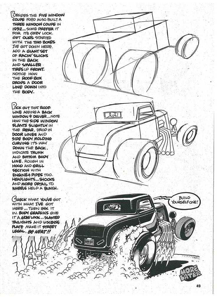 1000+ images about CAR~TOONS DRAWINGS on Pinterest | Chevy ...