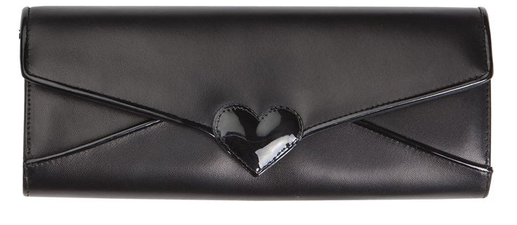 MESSAGE CLUTCH BLACK by Minna Parikka