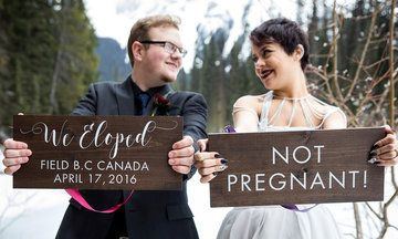 19 Creative Elopement Announcements You'll Want To Copy | HuffPost US