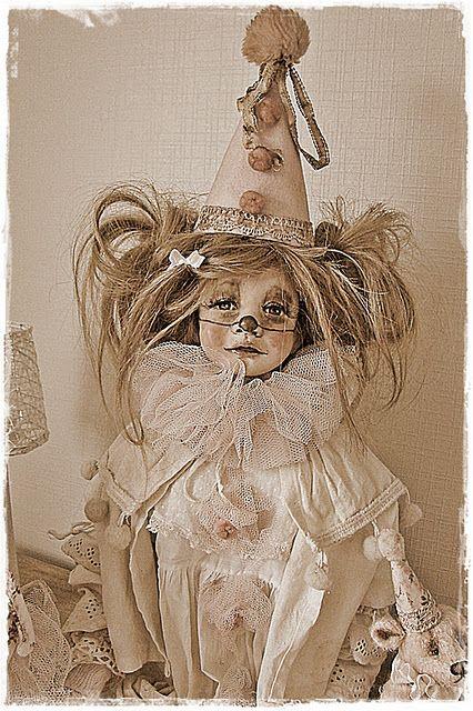 clown style doll