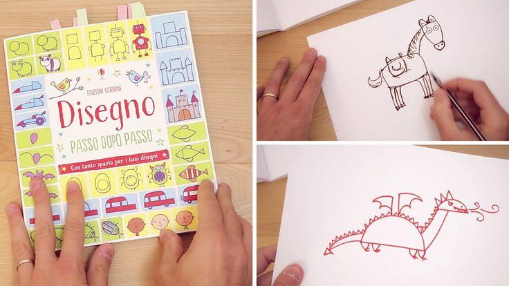 Dal delizioso libro Disegno passo passo della Usborne vi mostro come disegnare un drago, un cavaliere e un cavallo con un metodo semplice passo passo che per...