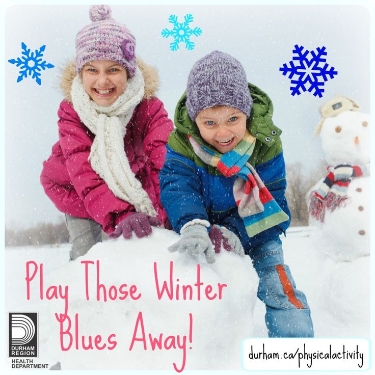 Outdoor active play has many benefits for children. Being active promotes good mental health, helps kids deal with stress, and improves confidence and self-esteem.  Make it your goal to stay active all through this winter season.