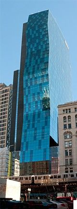 Chicago's Roosevelt University building