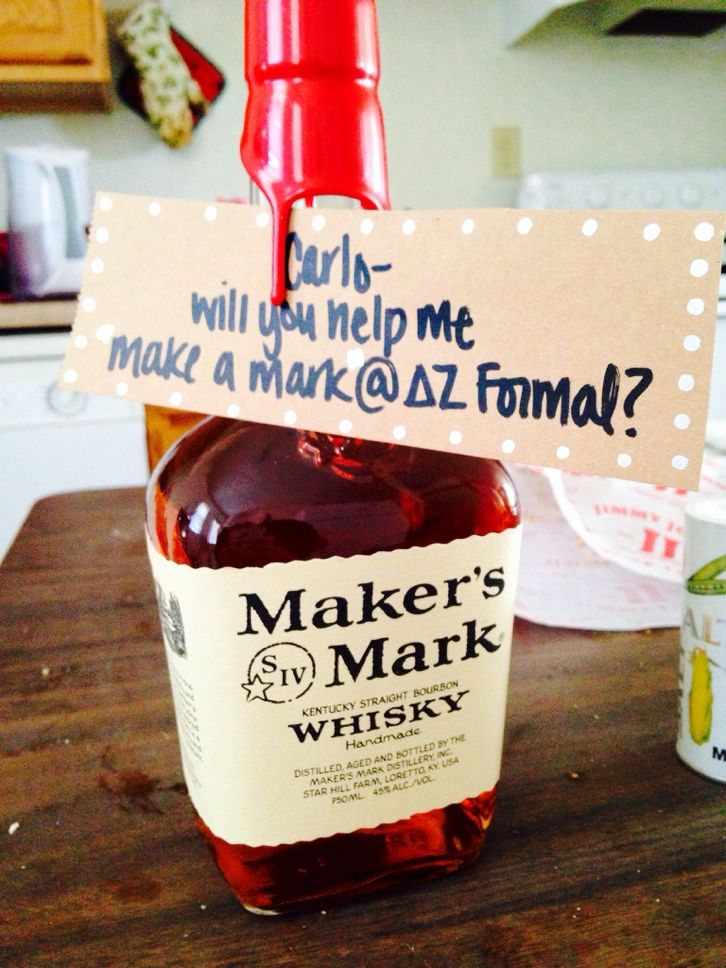 How to ask him to formal in the right way. TFM.