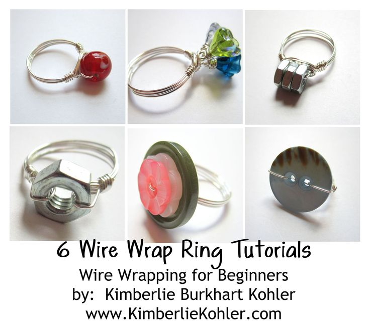 69 best Jewelry-Tutorials (Rings) images on Pinterest | Jewelry ...