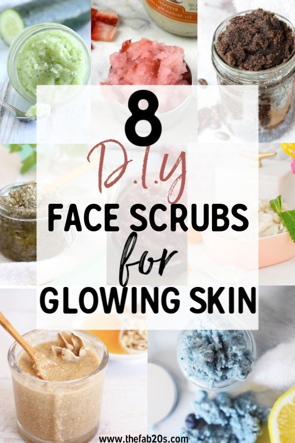 8 beste DIY-Gesichtspeelings für strahlende Haut – #DIY #Face #glowing #scrubs #Skin  – DIY Beauty Tips Ideen