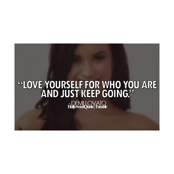 demi lovato quotes | Tumblr ❤ liked on Polyvore