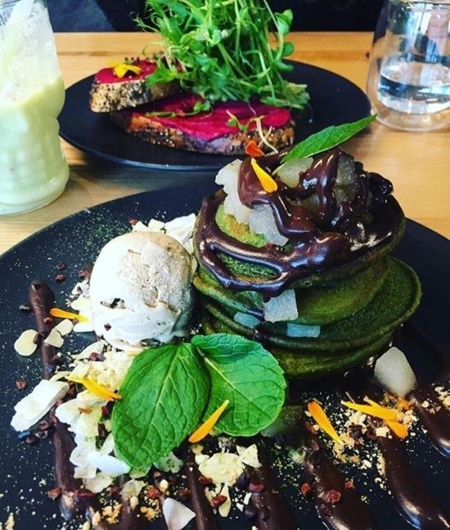 A Sydneysider's guide to Melbourne: EatTry everything on the menu at Matcha Mylkbar, including the matcha pancakes. Image credit: Instagram.com/matcha_mylkbar